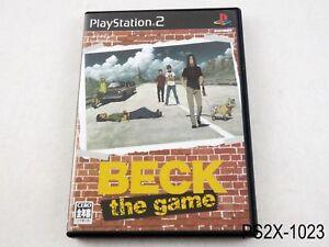 BECK-The-Game-OST-Playstation-2-Japanese-Import-Japan-JP-PS2-US-Seller-B