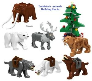 The-Prehistoric-animals-Would-Mammoth-Sabre-Wulf-Building-Blocks-Toys-Fits-lego