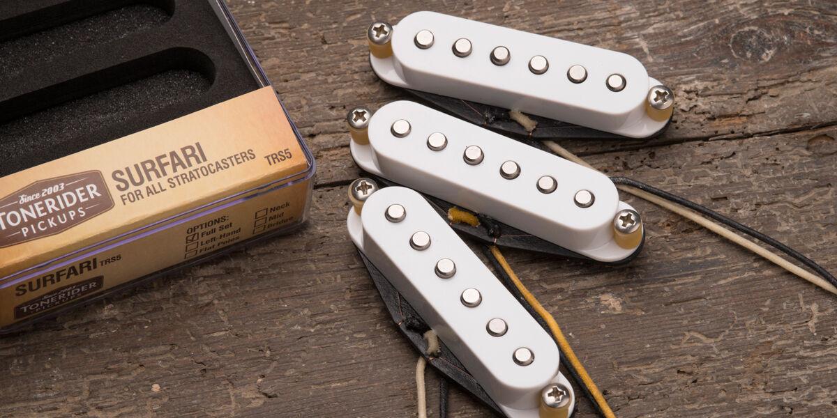Tonerider TRS5 Surfari Strat Tonabnehmer Set - Linkshändig