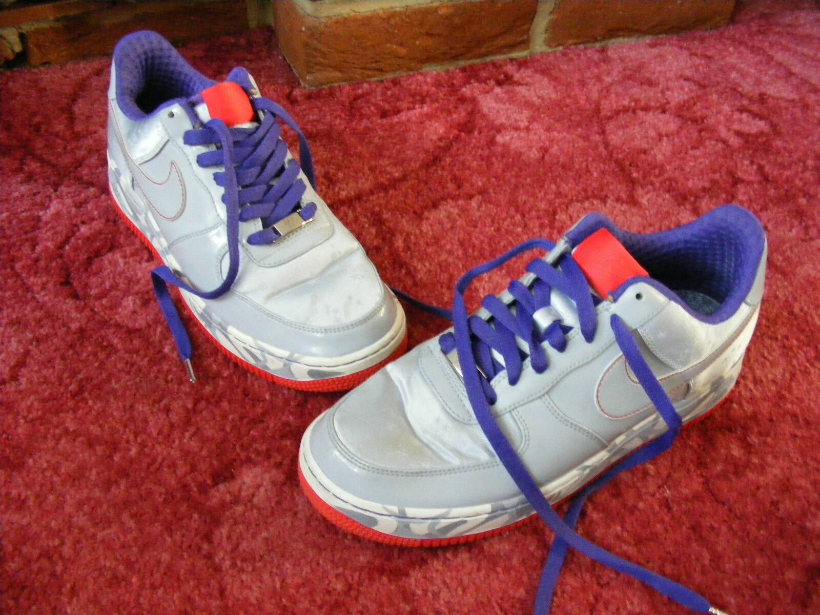 Womens Girls Nike Air Force XXV AF-1 '82 Trainers Shoes US 8.5 1/2