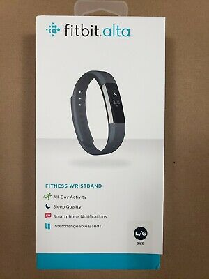 5.5-6.7 Inch Fitbit FB406PMS Alta Fitness Tracker Small Plum