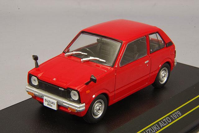 First 43 1 43 SUZUKI ALTO 1979 Rouge du Japon
