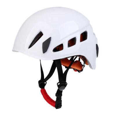 Safety Helmet Rock Climbing Scaffolding Construction Rescue Hard Hat Orange