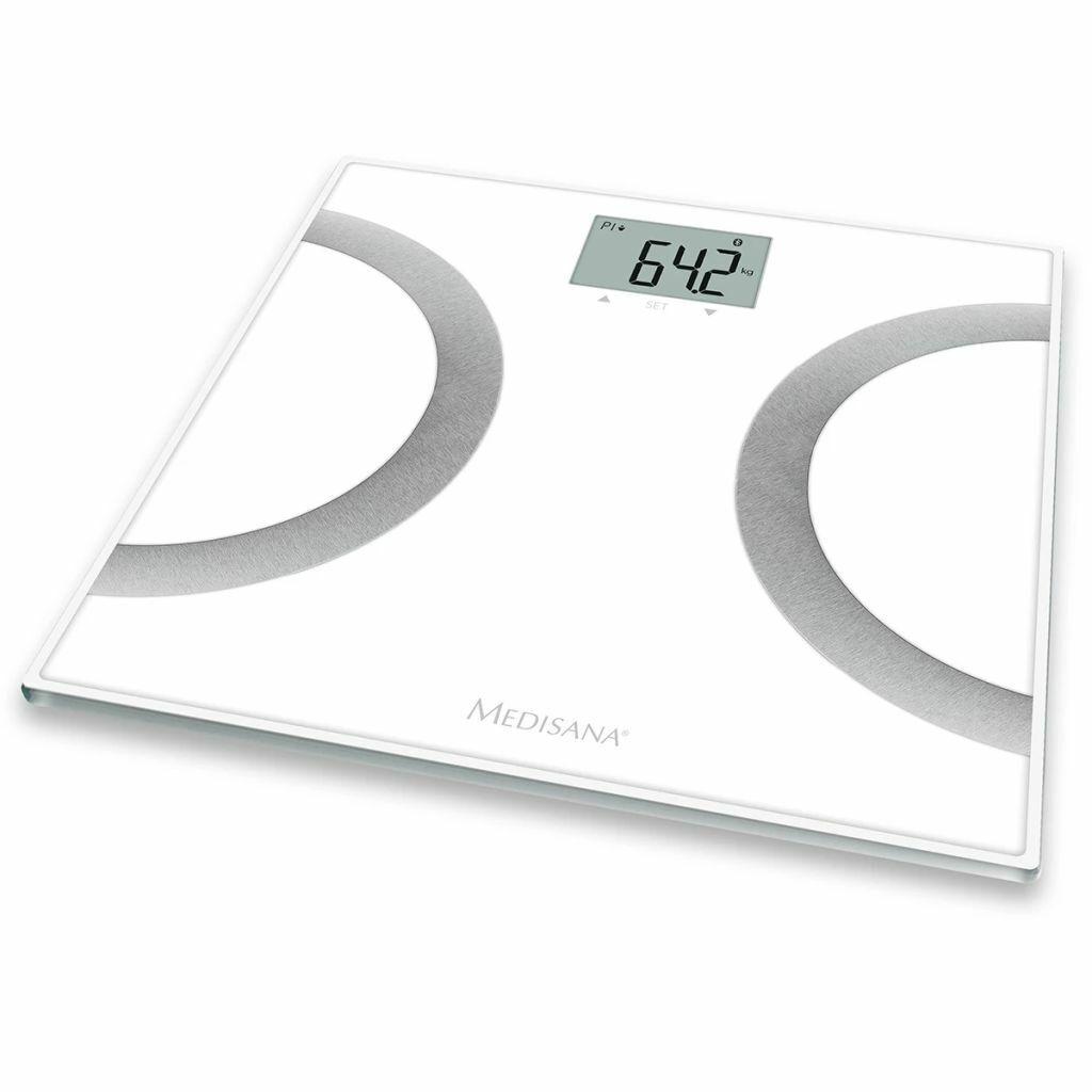 Medisana Körperanalysewaage Personenwage Körperfettwaage BS 445 180kg Weiß 40441