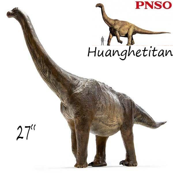 27  pnso Raro huanghetitan gigante Dinosaurios Modelo Juguetes Figura Artística científico NUEVO