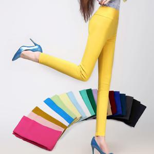 Hot Fashion Woman Capris Office Plus Size Skinny High Waist Women Pencil Pants