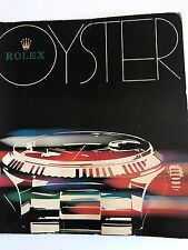 Rolex Oyster Vintage Catalogue 1977 Rare Ref 6263 6265 5513 16650 1675 1655