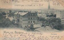 Gruss aus Friedenau Berlin Foto-AK 1900 Panorama Berlin 1603133