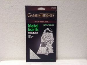 Metal-Earth-ICONX-Game-of-Thrones-Iron-Throne-Steel-Model-Kit