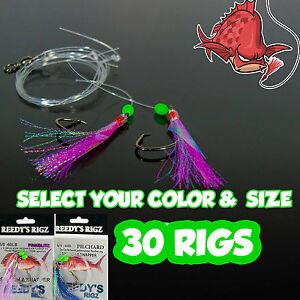 30-fishing-rigs-snapper-hook-heavy-leader-mono-Lot-Bulk-Charter-Pack-Wholesaler