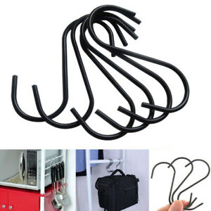 Steel-Home-Kitchen-Organizer-S-Shaped-Hook-Hanger-Storage-Rack-Clasps-Hooks