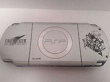 PSP 2000 Crisis Core Final Fantasy 7 Limited Silver Console only rare japan F/S