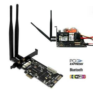 LWS 2 in 1 Combine Mini PCI-E M.2 NGFF mSATA SSDAdapter to SATA 3.0 III 7+15pin Adapter
