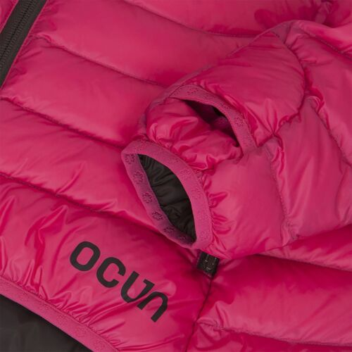 OCUN Tsunami Down Jacket Women Women´s ultralight down jacket pink//brown