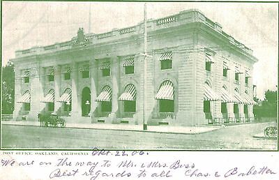 Oakland,California,Post Office,Alameda County,Used,Oakland,1906