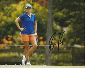 Lpga Sarah Kemp Autographed Signed 8x10 Photo Coa F Ebay