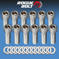 Sbc Intake Manifold Bolts 3/8 X 1 1/4 Stainless Steel Small Block Chevy 350 Tpi