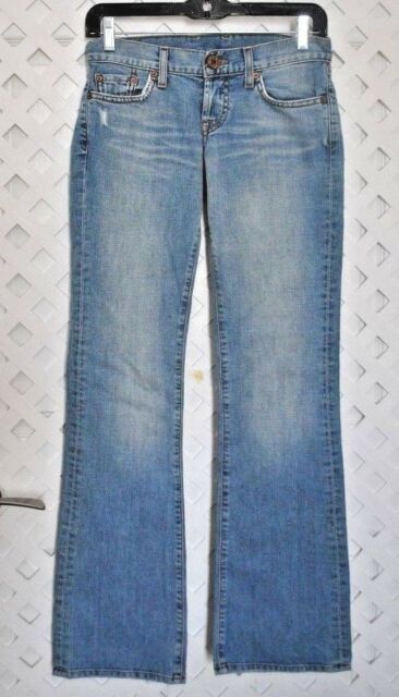 Lucky Brand LIL MAGGIE Jeans Women's Light Wash Distressed Jeans Size 0 / 25