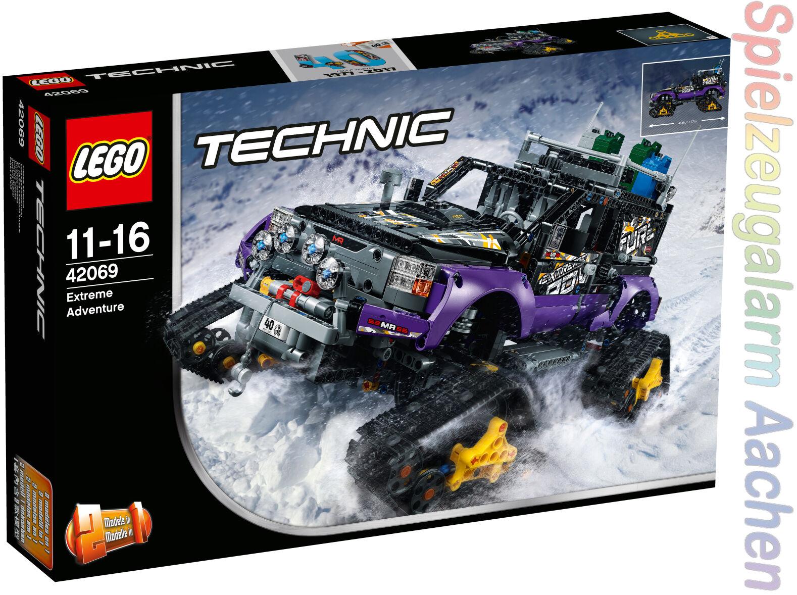 LEGO TECHNIK 42069 Extremgeländefahrzeug véhicule d'aventure extrême N8 17