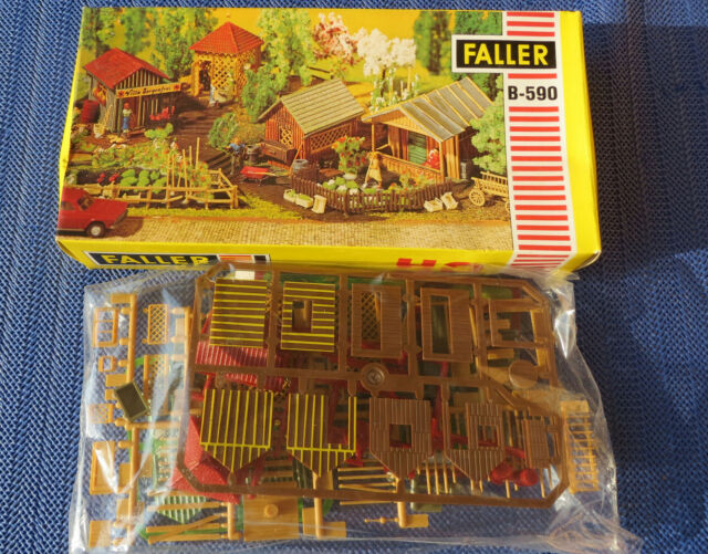 Faller Ams B-590 Allotment Boxed