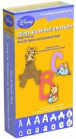 Disney Pooh Font Letters Cricut Cartridge Factory Sealed Free Ship
