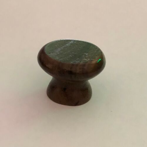 WALNUT CABINET KNOB LACQUERED PACK OF 10