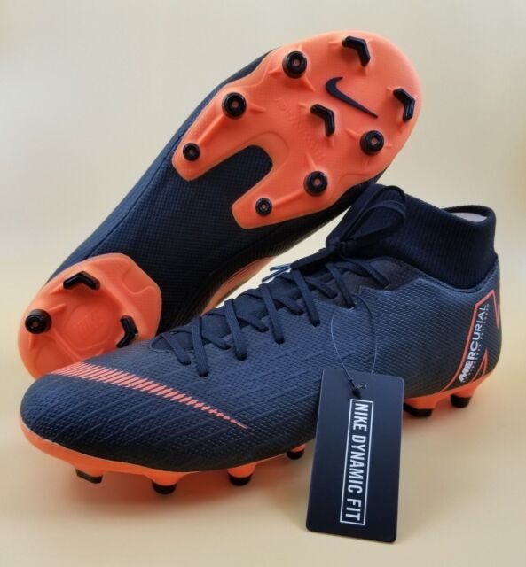 d4a03c05973c8 Nike Mercurial Superfly 6 Academy MG Men Soccer Cleats Black Orange  AH7362-081 for sale online