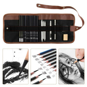 Professional-Sketching-Drawing-Art-Pencil-Kit-Set-Graphite-Charcoal-Stick-Artist
