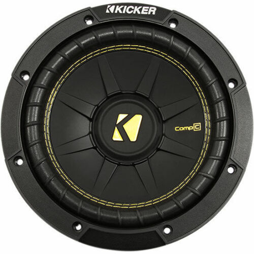 "Kicker CompC CWCD84 200W RMS 8/"" Dual 4-Ohm Car Subwoofer Car Sub Woofer"