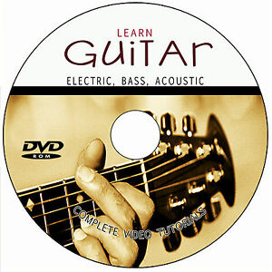 learn to play acoustic electric bass guitar video tutorials for beginners how to ebay. Black Bedroom Furniture Sets. Home Design Ideas