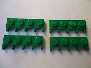 LEGO WHITE VEHICLE HINGE ROOF HOLDER x 4 PART 4315