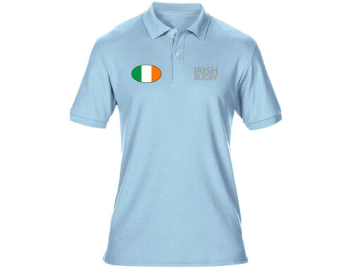 Embroidered Irish Rugby Mens Ireland Polo Shirts 6 Colours