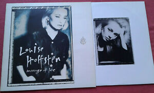 Louise-Hoffsten-Message-Of-Love-LP-Vinyl-1991-Slowburn-One-Step-Back-uvm