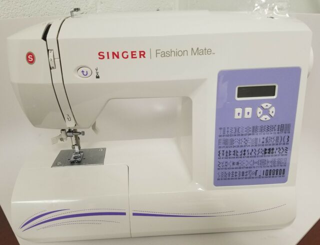 Singer 40FASHION MATE Electronic Sewing Machine EBay Gorgeous Singer Fashion Mate Sewing Machine 5500