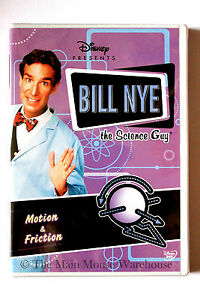 Disney-Bill-Nye-The-Science-Guy-Motion-amp-Friction-Educational-DVD