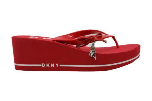 DKNY Women/'s Shoes Nina Open Toe Casual