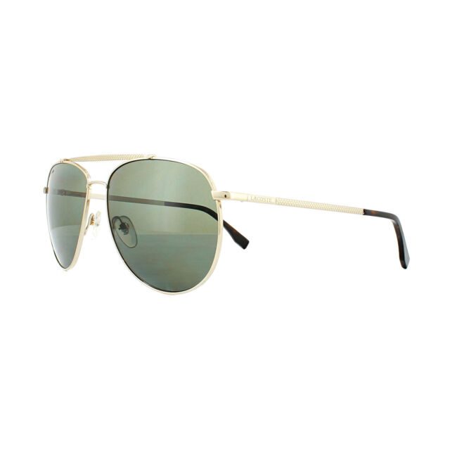 3d4a6413047 Lacoste Men s L177sp Polarized Aviator Sunglasses Gold 59 Mm for ...