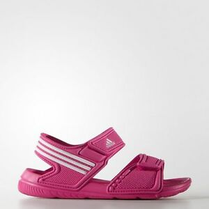 0e9a0729fa18 Details about NEW Adidas Akwah 9 Infant AF3867 Pink White Baby Girls Strap  Sandals Toddler 5 K