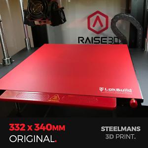 Lokbuild : 3d Print Build Surface 332 X 340 To Assure Years Of Trouble-Free Service raise3d Pro2, Pro2 Plus, N2, N2+