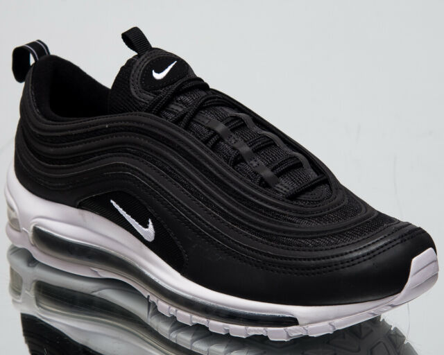 b777b7e7e3daf Nike Air Max 97 Men s New AM97 Black White Casual Lifestyle Sneakers  921826-001