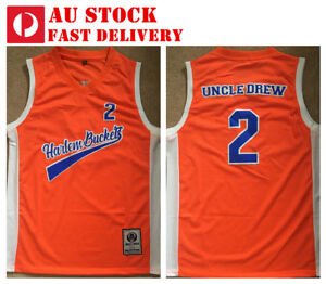 on sale 2df7f b291b Uncle Drew #2 Harlem Buckets Kyrie Irving 2018 movie Jersey ...