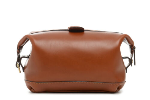 New KORCHMAR LUX Ryder L1217 Top Zip Leather Toilet Dopp Kit $185