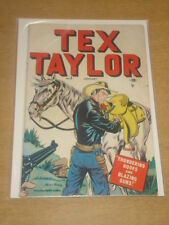 TEX TAYLOR #3 VG (4.0) MARVEL COMICS JANUARY 1948