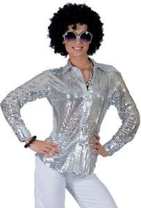 bluse silber