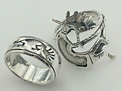 Lot of 100 8mm Sterling Silver Beads Native American,SouthWestern /& Contemporary