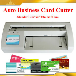 """Full Bleed 3 5X2 0"""" Standard Business Name Card Paper"""