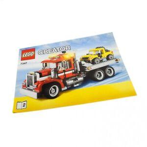 1-x-Lego-System-Bauanleitung-A4-Heft-2-fuer-Set-Creator-Abschlepptruck-mit-Jepp-7