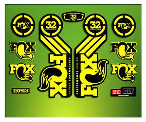 AUTOCOLLANTS FOURCHE FOX 32 PERFORMANCE ELX56 MTB ffZsyATN-07162640-114322834