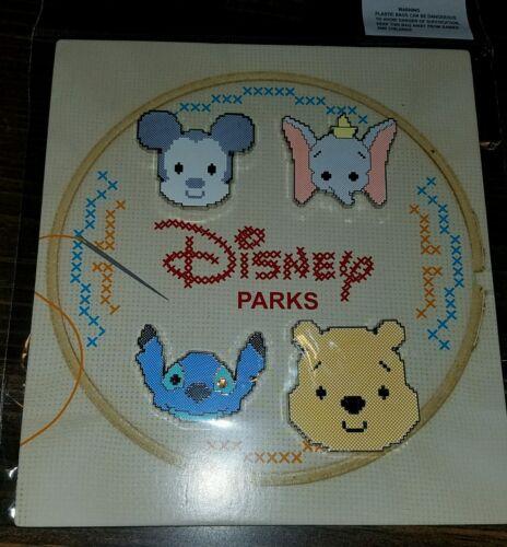 Cross Stitch NEW 2016 Disney Pin Booster Set Pooh Stitch Dumbo Mickey