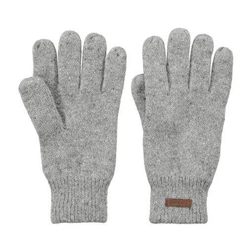 Barts Haakon Gloves Heather Grey Herren Handschuhe Winterhandschuhe Grau